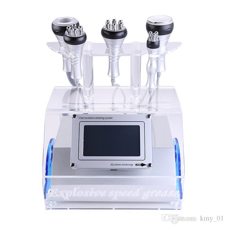 뜨거운 판매 40 K RF 초음파 cavitation 진공 아름다움 기계 / 폭발 속도 그리스 cavitation 기계 슬리밍 판매