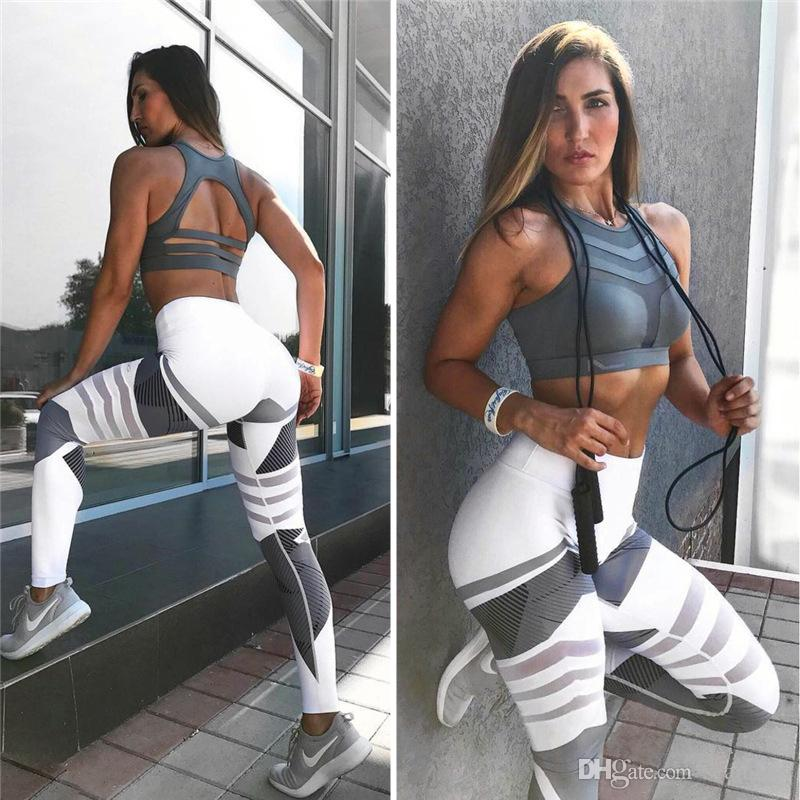 Yoga Pants S-XXXL Plus Size Leggings Sport Women Fitness Legging Slim Stretch Running Tights Women Leggins Ropa Deportiva Mujer