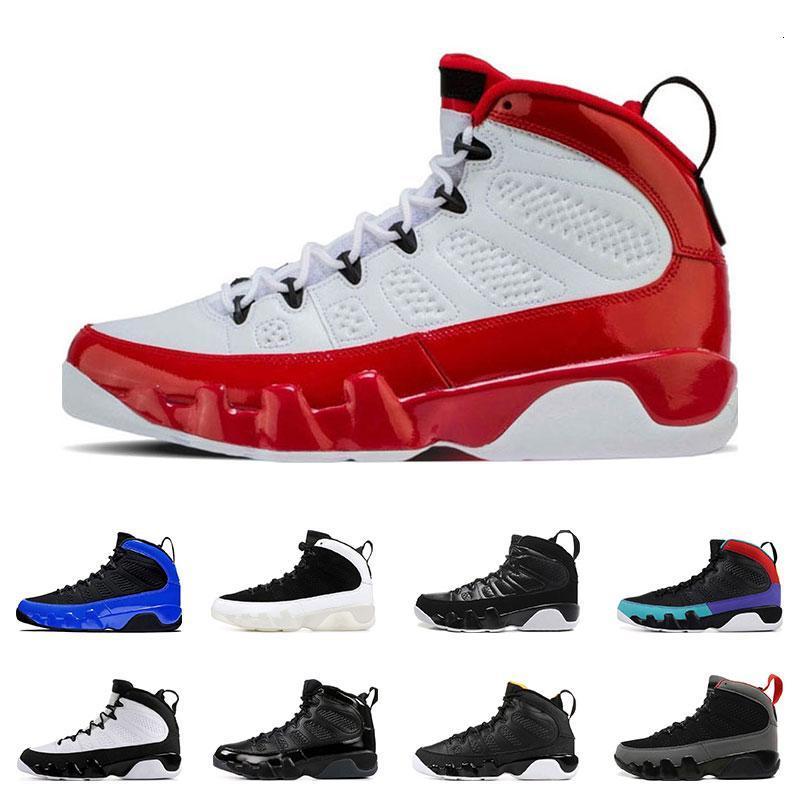 9s nuevos zapatos arrivel de baloncesto para hombre de la calidad superior Gimnasio Rojo soñarlo hacerlo ESTATUA DE CUENTA DEL PAQUETE entrenadores deportivos zapatilla de deporte de tamaño 7-13