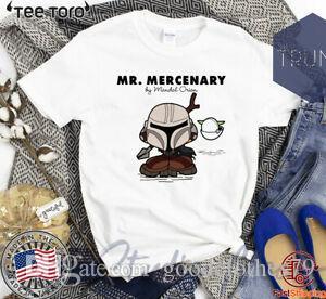 Mr Mercenary Mandalorian Kid Offcial T Shirt