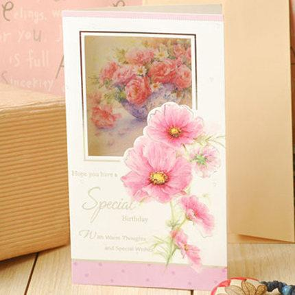 paper happy birthday cards for friend flower greeting cards birthday wishes gift message