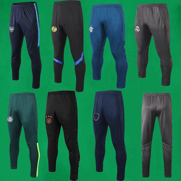 Мужские брюки Реал Мадрид трек брюки 2019 2020 Аякс спортивные брюки взрослые Фламенго футбольные брюки Палмейрас спортивные тренировочные брюки