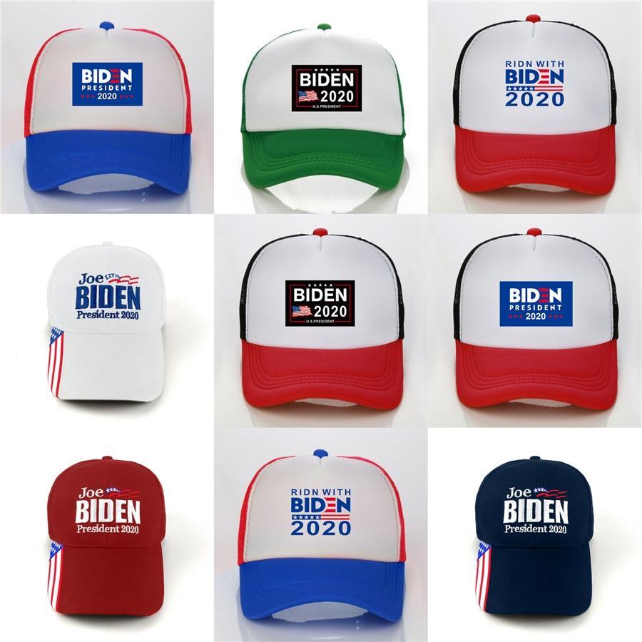 5 цветов делают Америку снова великой кепка Дональд Байден 2020 шляпа 3D вышивка камуфляж шляпы спортивные бейсболки регулируемые Snapback мужчины M1 #82