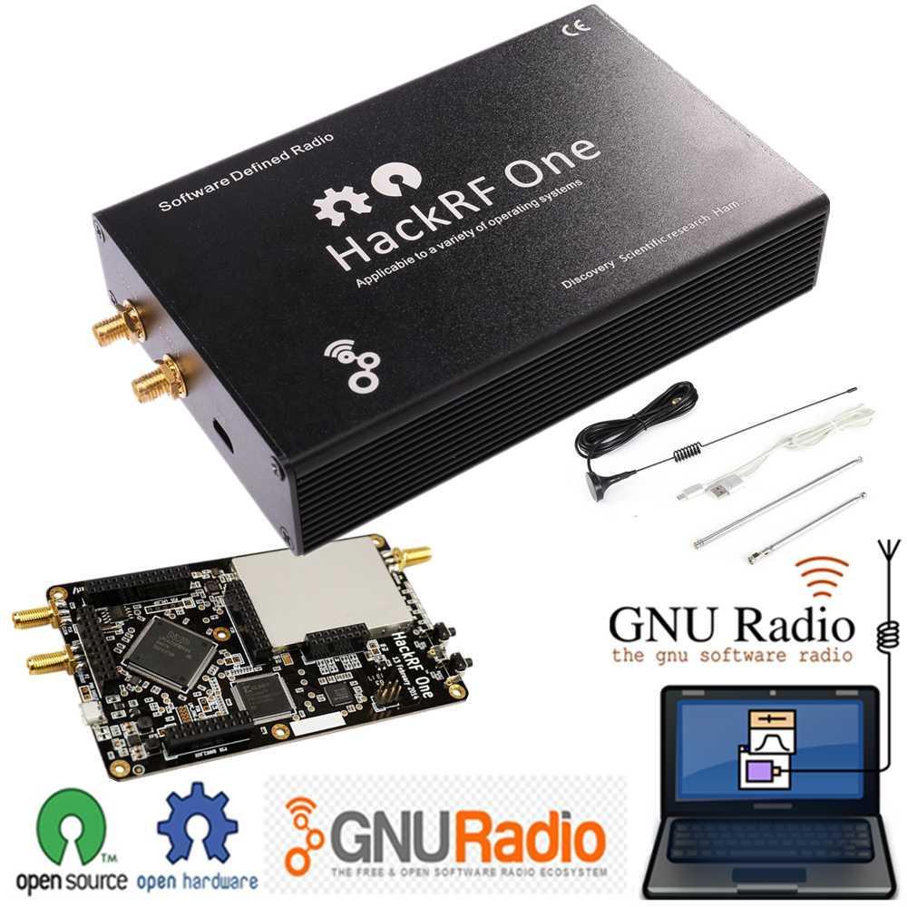 NEW HackRF Один 1МГц-6ГГц SDR Platform Software Defined Radio Board Разработка Signal трансивером с Iron Shell Open Source GPS