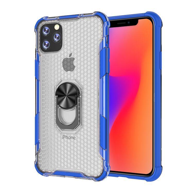 caja del teléfono transparente para la cubierta posterior para Samsung Galaxy S20plus armadura para la galaxia S10, más A30 A70 A50 A20E pata de cabra sostenedor de la cubierta C