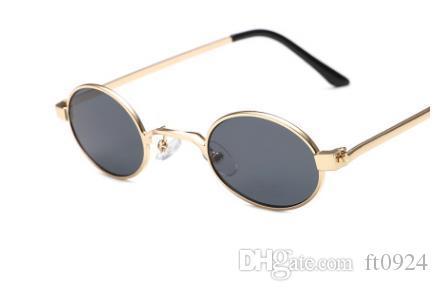 Новые модные очки в стиле ретро, с круглой рамкой и маленьким лицом, солнцезащитные очки Harajuku, модные девушки, ретро-очки в стиле хип-хоп