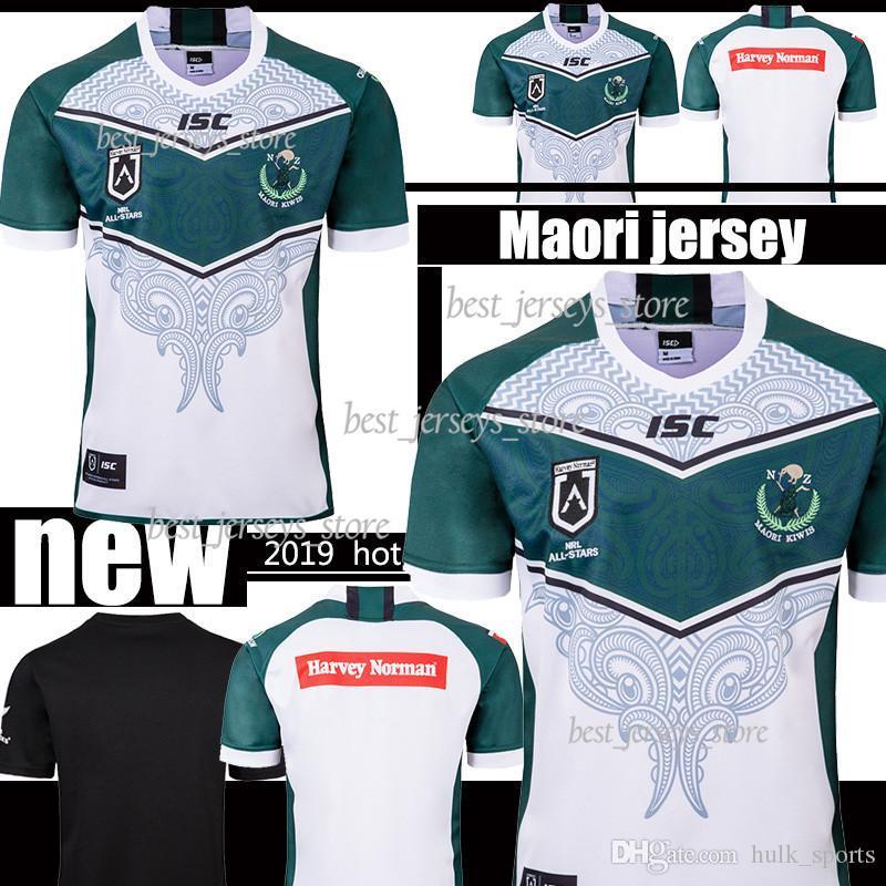 2019 MAORI ALL STARS JERSEY New Zealand Maori All Stars de rugby Jerseys National League Rugby camisa jersey