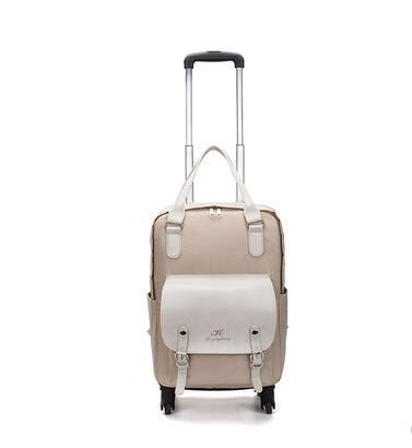 Женщины Колесные рюкзаки Сумки Багажные колеса Багажник Сумка Rollley Trolley Travel Trolley Bags Backpack Oxford Travel GVGPG