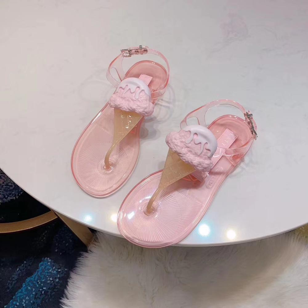 2020 nuovi pattini Melissa signore dei sandali della gelatina del Brasile per le vacanze Le donne della gelatina di estate signore casuali pattini della gelatina signore Melissa Sandalo Y200702