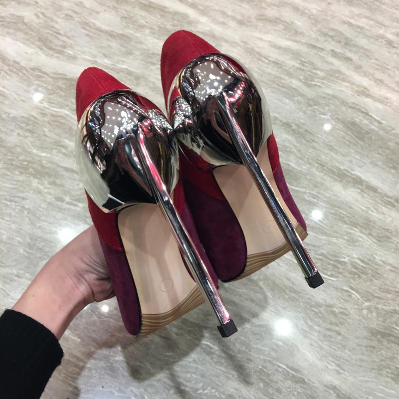 Fairy2019 Split Noodles Down Joint Alcohol Rosso Fine-vino Fine Wine Glass With Shallow Bocca Single Shoe Donna 42 Will Shoes