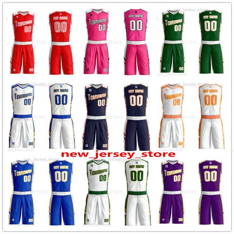 Fertigen Sie jeden möglichen Namen können beliebig viele Mann-Frauen-Dame Jugend-Kind-Jungen-Basketball-Trikots Sport Shirts Wie die Abbildungen Sie ZZ0173 Angebot
