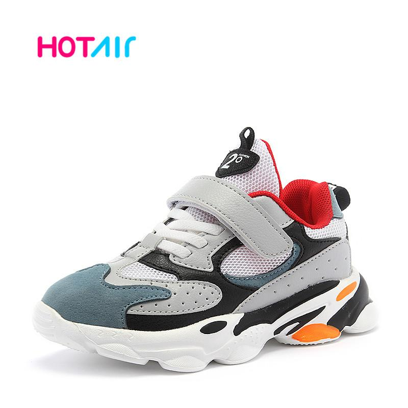 2020 Sneakers kids sport shoes for boys Lightweight Girls Casual School Trainers Children shoes boy Breathable