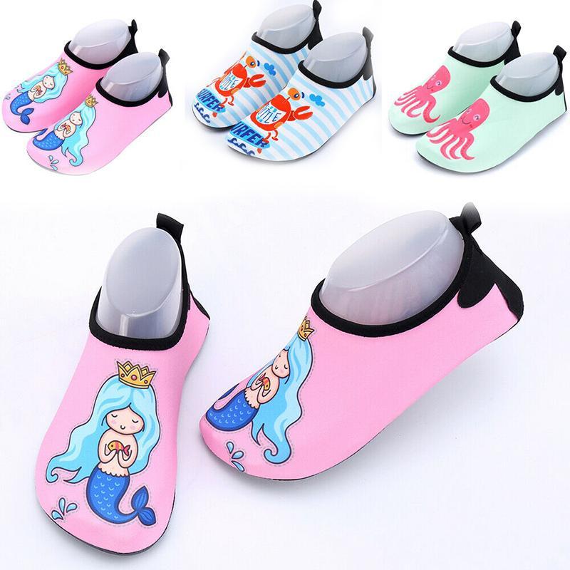 بنين أطفال بنات المياه أكوا أحذية الأطفال الرياضة شاطئ بركة السباحة ممارسة الأحذية أحذية عارضة سريعة جاف غير زلة الأحذية الجديدة
