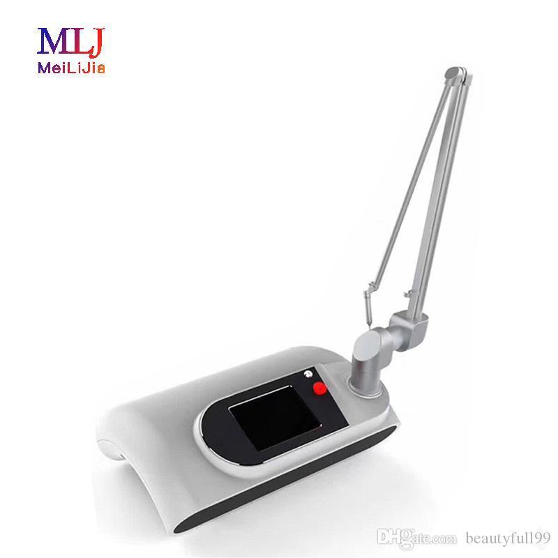 Multifonction médical RF Tube chirurgical laser fractionnel Machine de beauté CO2 Laser Tattoo Removal Machine Sourcils Enlèvement