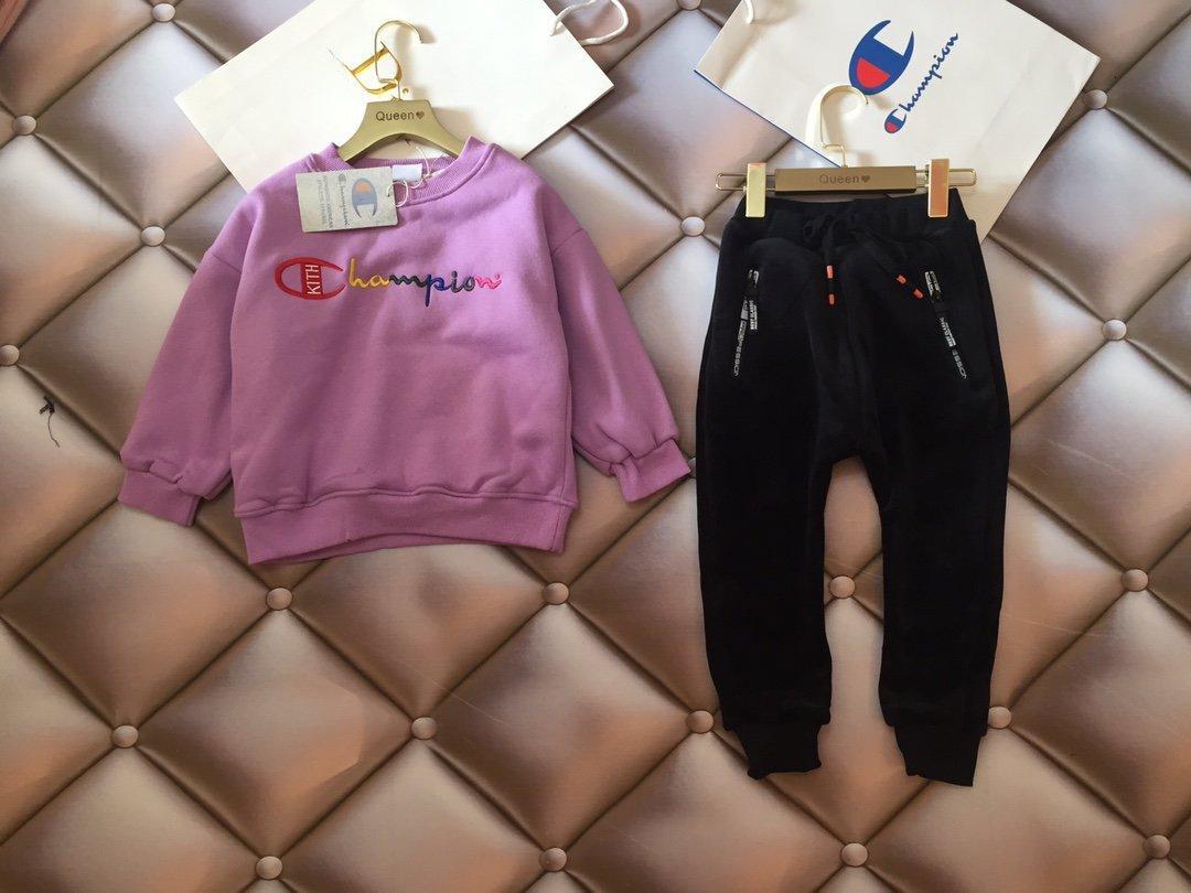 Meninas conjuntos 2pcs top WSJ033 alta qualidade + calças # 121141 wgniuniu
