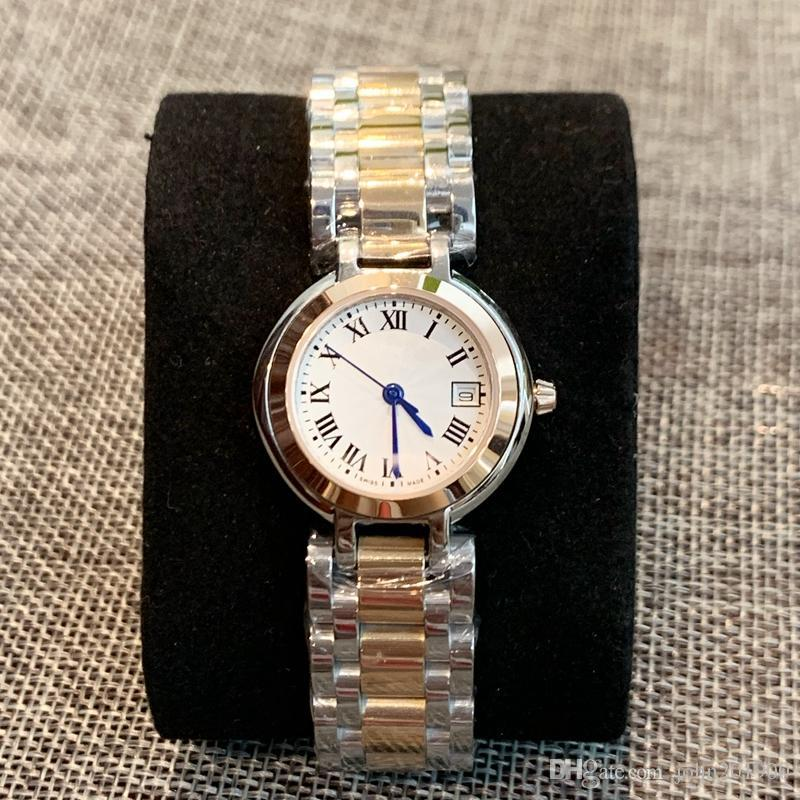 2010 Nizza Qualitäts-Art- und Dame-Quarz-Uhren-elegante Frauen Kleid Relogio berühmter heißen Verkauf Design-Top-Grad Edelstahl-Armbanduhr
