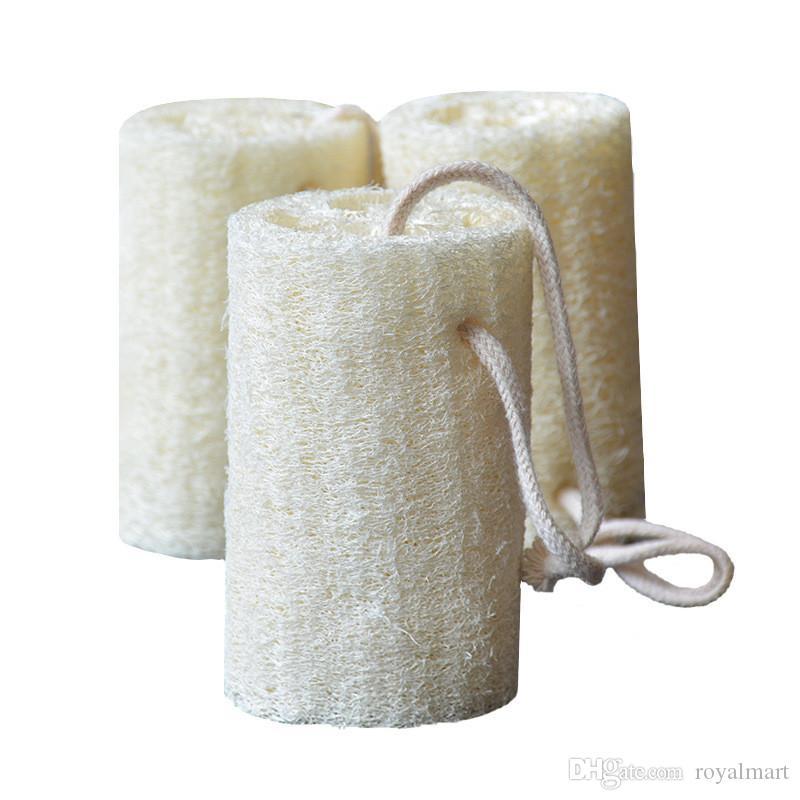 Natürlicher Lofah Luffa Bad liefert Umweltschutz Produkt saubere Peeling Peeling Rutschen weiche LOOFAH Handtuch Pinsel Pot Wasche Küchenwerkzeug