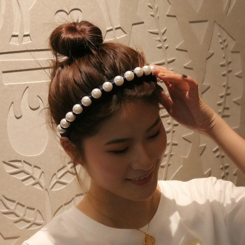 Silk Personality-Perlen-Stirnband Hair Cut-Art mit Stirnband-Alice-Band Cerchietto Haarreif Silk Personality DKErp