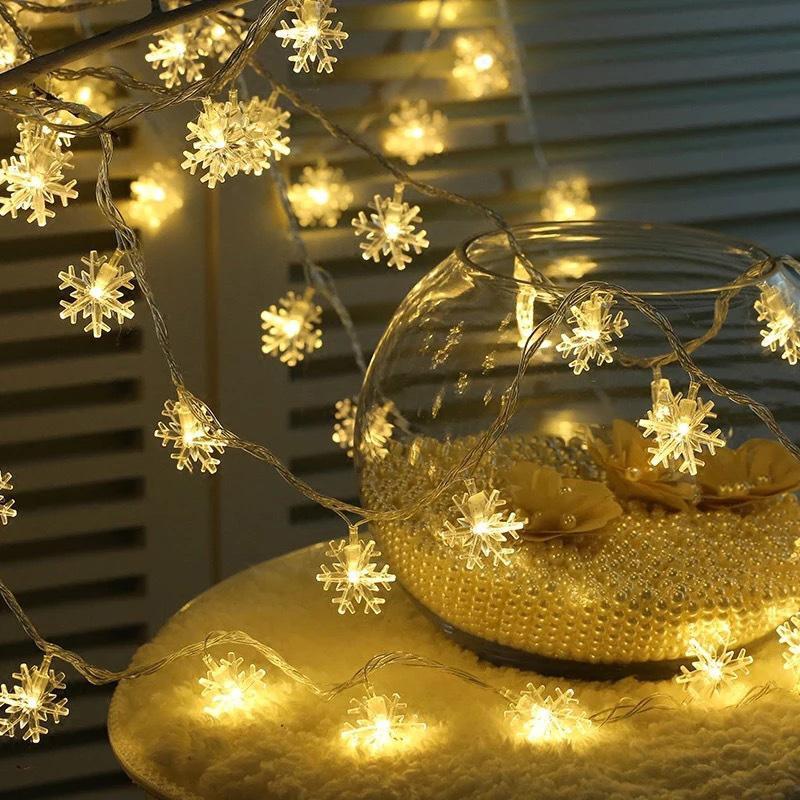 Рождество светодиодные фонари фестиваль лампы для спальни Рождество дерево спальня Lightstring декор TN88