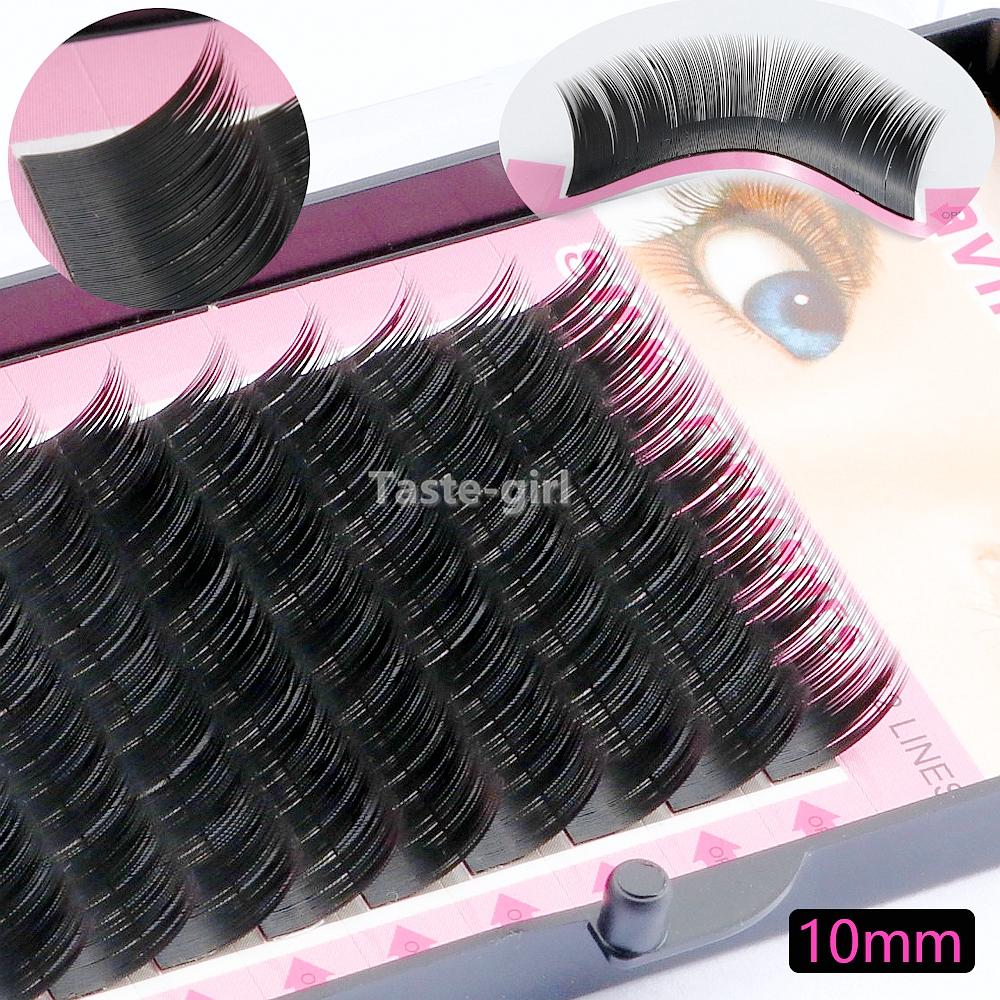 0.15C full professional makeup individual false eyelashes extension supplies tool silk fake eye lashes 8MM 10MM 12MM 14MM