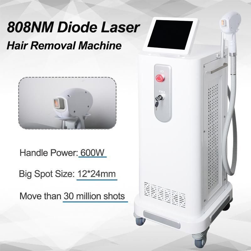 808nm лазерная эпиляция профессиональная машина 808nm 810nm диодный лазер быстрое удаление волос омоложение кожи безболезненно