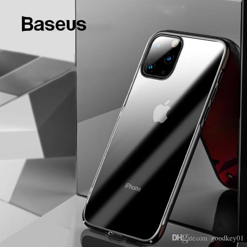 للحصول على 11 حالة برو ماكس حالة الغطاء الواقي Baseus بريق عودة كاملة لمدة 11 فون برو 11 ماكس كابا الغلاف كوكه حالة الهاتف