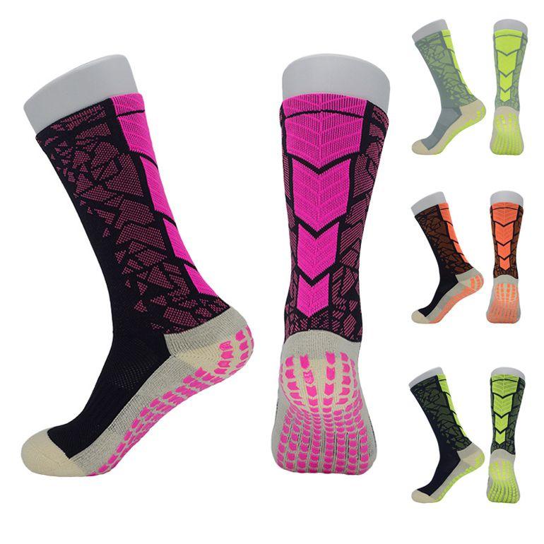 High Quality Elite Sports Soccer Socks Long Stocking Nylon Breathable Wear-Resistant Football Socks Outdoor Riding Running Training M117Y