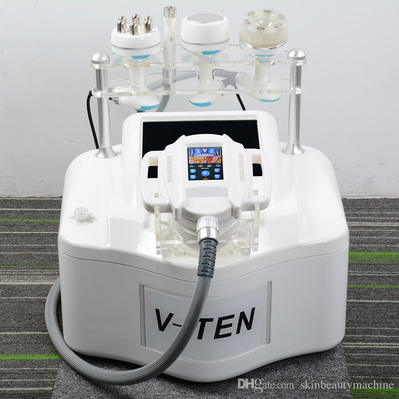 2019 5IN1 velashape vuoto corpo macchina macchina sottovuoto shaper dimagrante rf massaggio del rullo infrarossi Velashape sottile