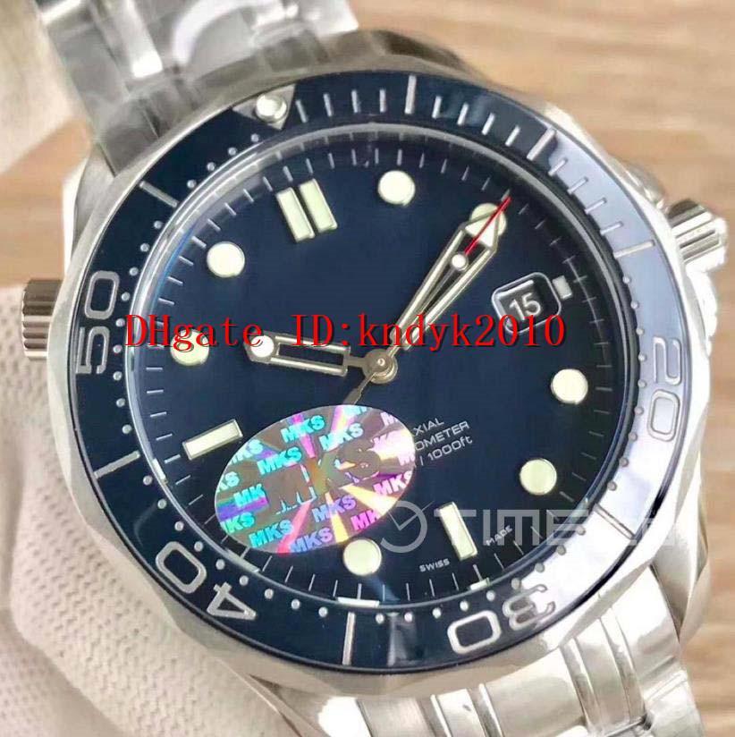 V3 Factory Diver 300m часы 212.30.41.20.03.001 Наручные часы 41мм MKS издание Керамическая рамка синий циферблат A2824 автоматические механические часы