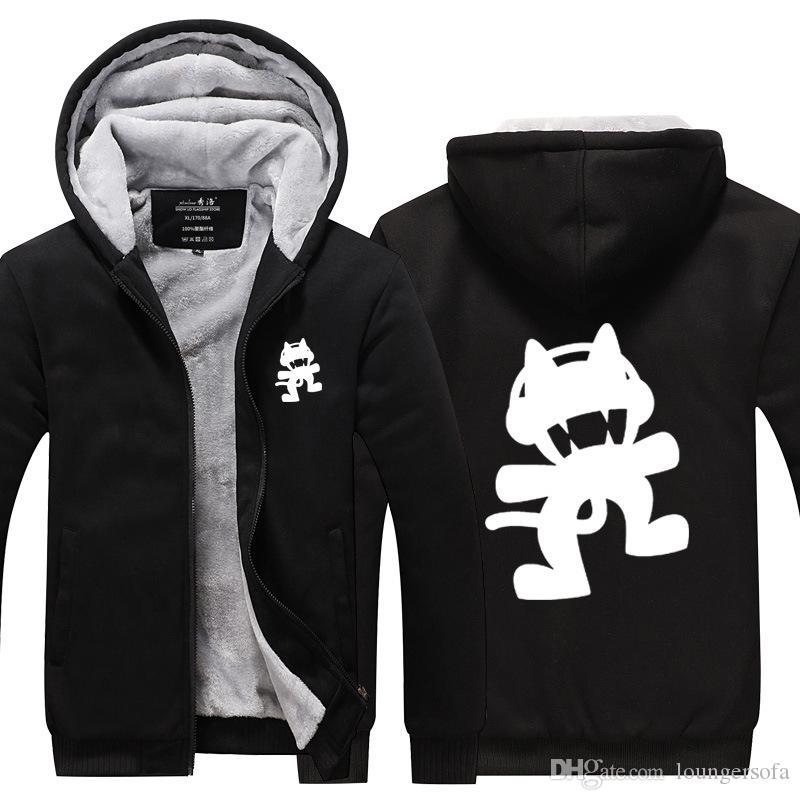 DJ Marshmello Pullover Männer Und Frauen Cashmere Big Code Hoodie Gesponnen Zucker Weird Cat Printing Freizeit Outdoorjacken 71zdI1