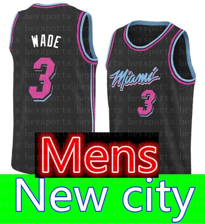 huge discount 39f36 8aefb 2018 KIDS 3 Dwyane Wade Miami Heat City Jersey Youth Mens 25 ...