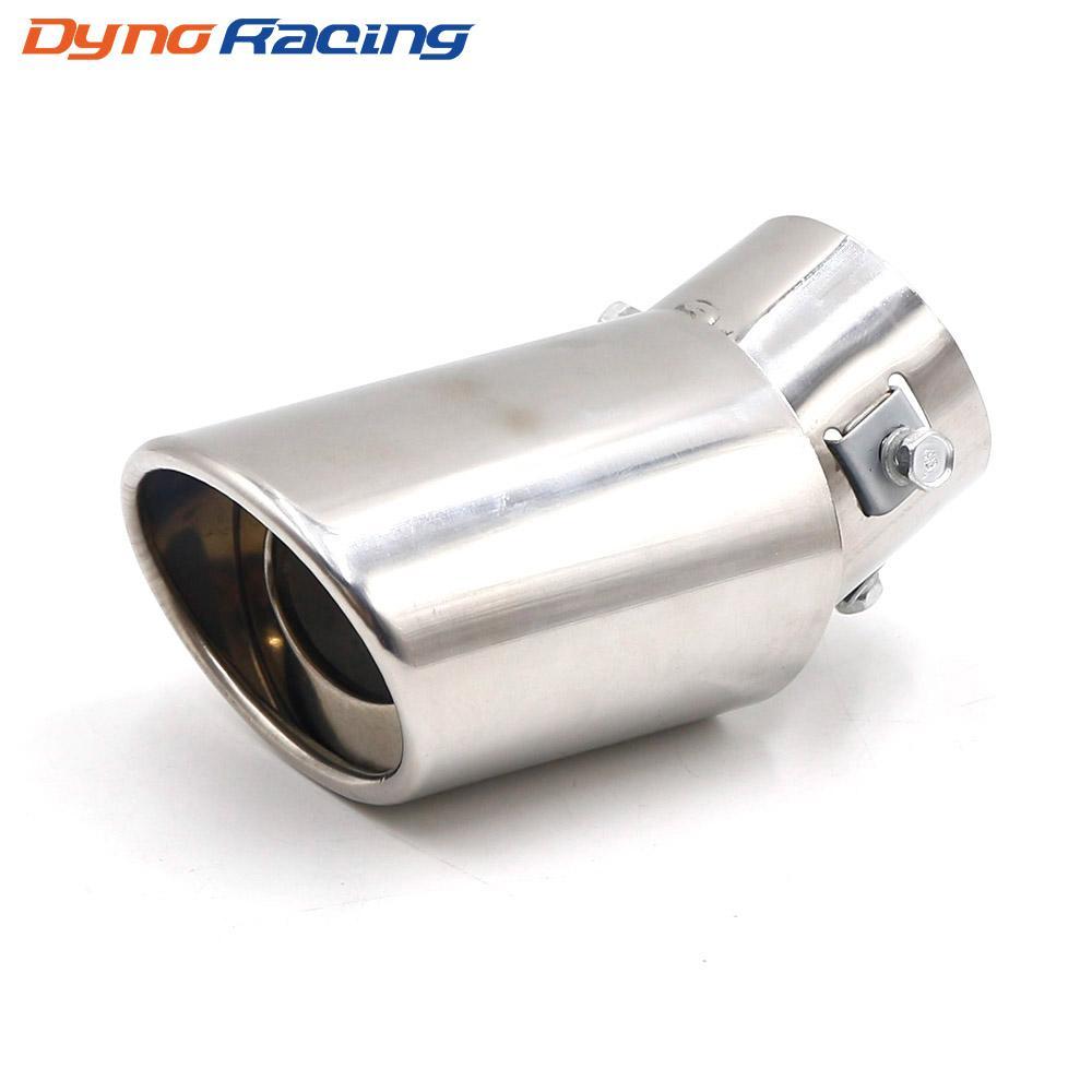 Universal-Auto-Auspuff-Schalldämpfer Spitze Straight / Elbow Aluminiumrohr Modified Schwanz Throat Liner Rohrauspuffanlage TT101197