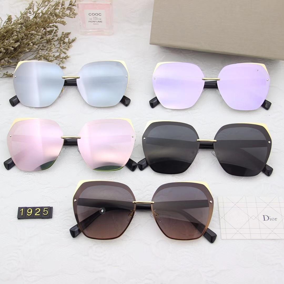 Designer Polarizerd occhiali da sole per la Mens dello specchio di vetro Gril Lense Vintage Occhiali da sole Eyewear Accessories donne con i box 1925 #