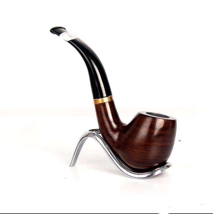 Ebony regazo manual, portátil, exquisita mano de obra de los hombres, accesorios de fumar en pipa.