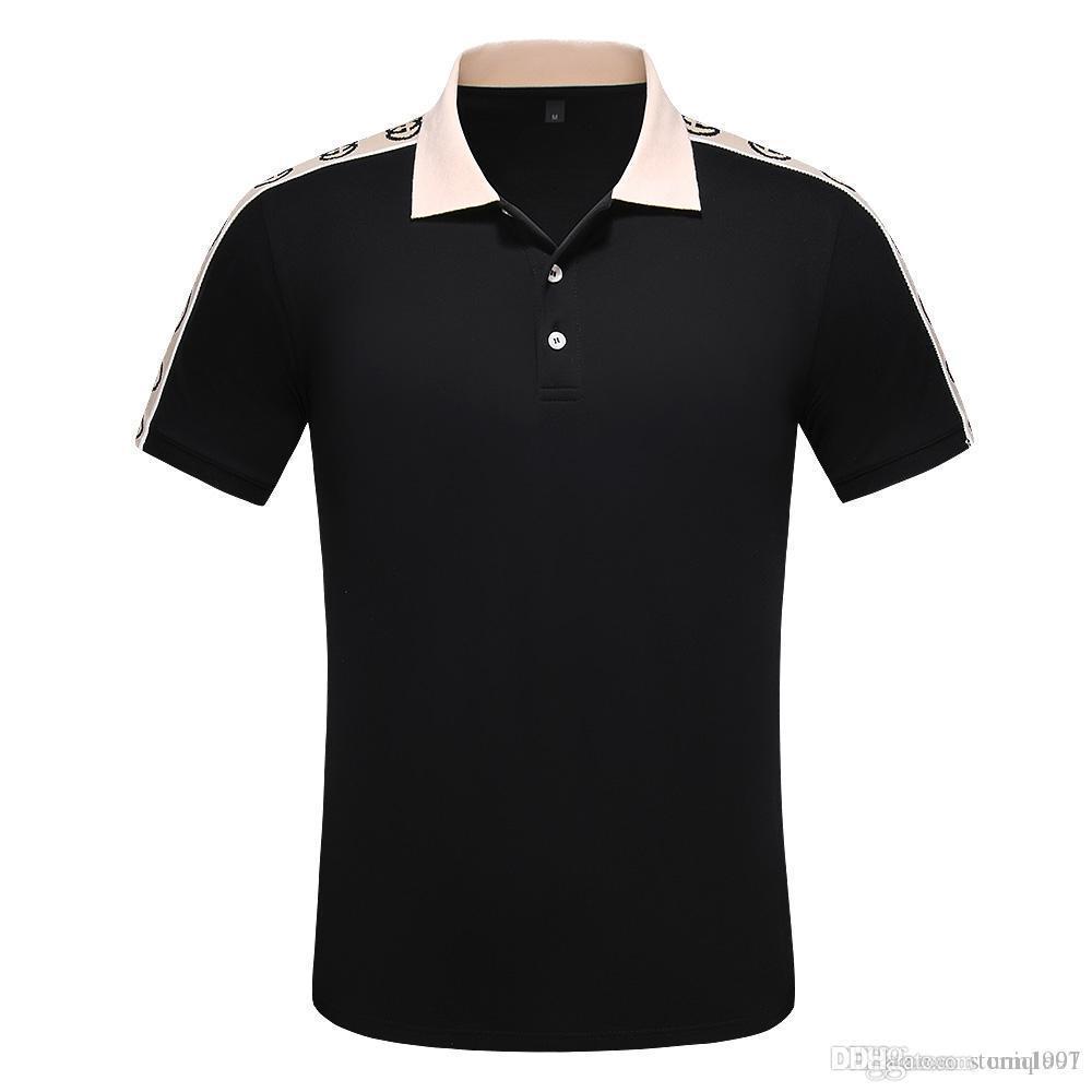 20SS новая летняя мода футболка дизайнер мужской роскошный досуг футболка высокое качество печатный узор хлопок Женская футболка Бесплатная доставка