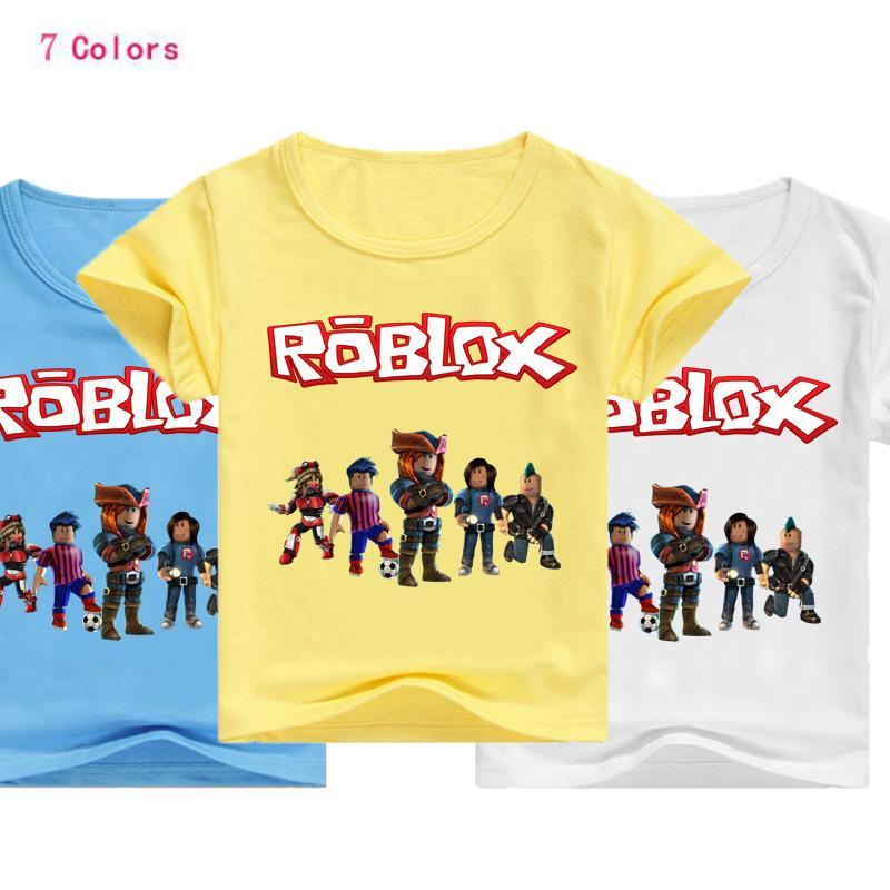 2020 2019 Summer Boys T Shirt Roblox Stardust Ethical Cotton
