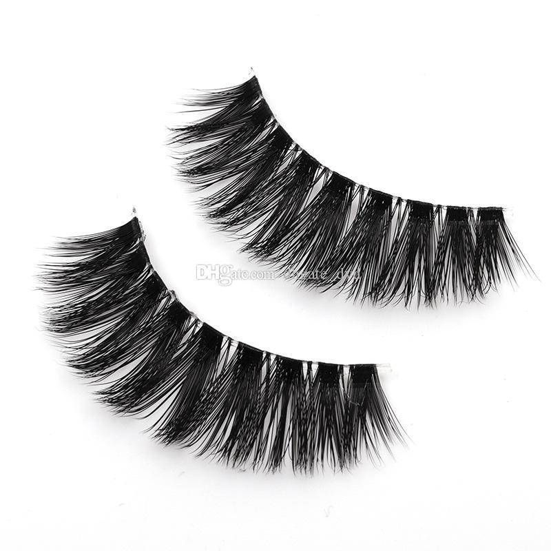 66a3a784f4c MA01-22 3D Faux Mink Eyelashes False Mink Eyelashes 3D Silk Protein Lashes  100% ...