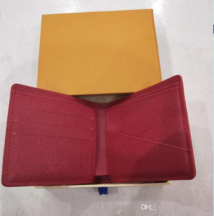 raccoglitore di marca di qualità con il regalo di lusso box titolari brevi raccoglitori della carta Famosa per uomini delle donne della borsa sacchetti di frizione 05