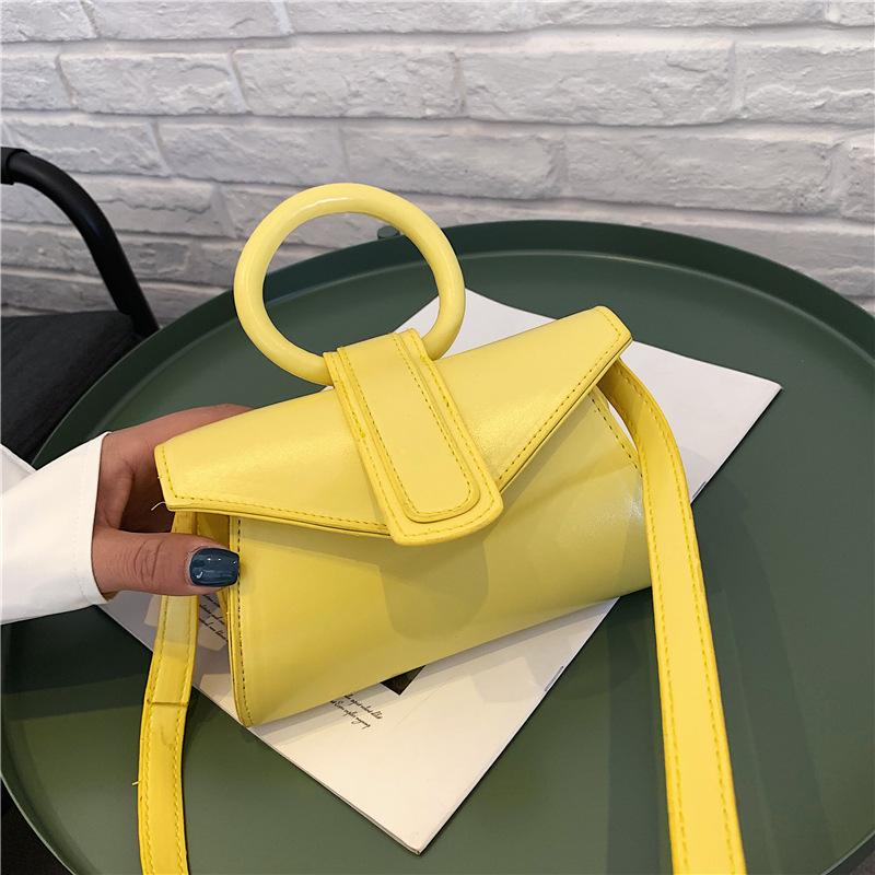 Cadena pequeña bolsa de hadas anillo nueva perla 2020 de verano mujer mujeres portátil pequeña bolsa cuadrada hombro mensajero