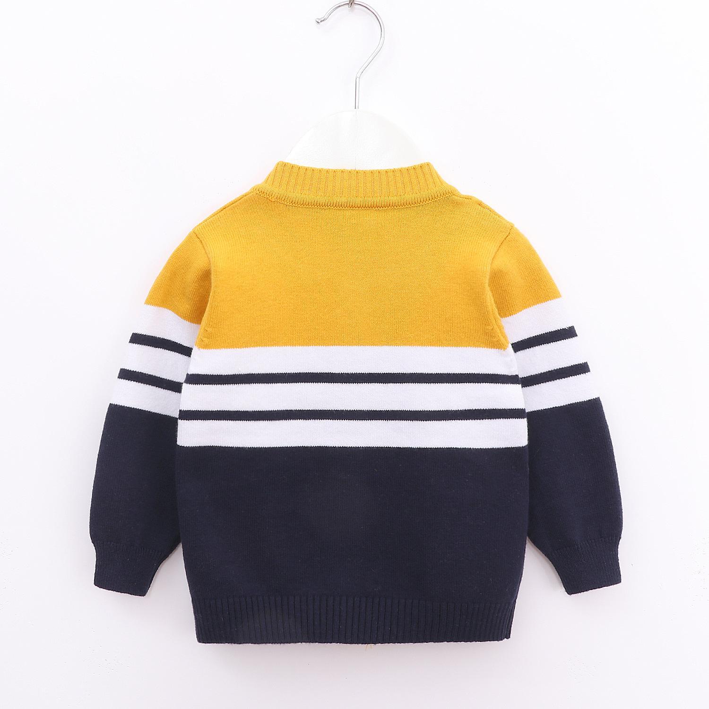 2019 nuovo autunno inverno delle ragazze dei ragazzi del maglione del cardigan del bambino di modo Knit della banda del cappotto di scuola per bambini Maglioni Top vestiti infantili