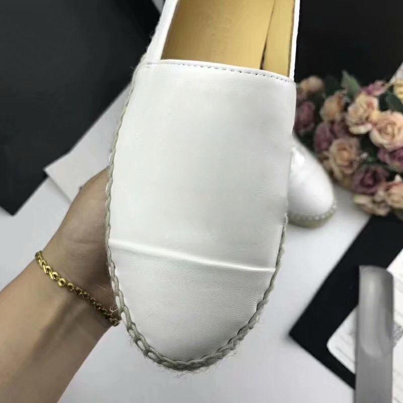 Sandales d'été marque Espadrilles chaussures pêcheur talon en cuir véritable chaussures de loisirs