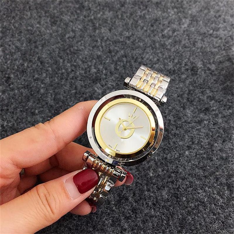 liwUltra señoras delgadas diseño simple círculo de línea de mujer de cuarzo reloj de pulsera torbellino Dial de reloj, casual de cuarzo de acero inoxidable relojes al por mayor 66