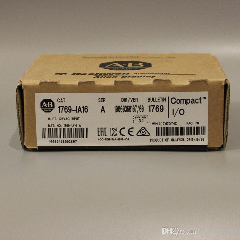 1 PC Allen Bradley 1769-IA16 CompactLogix 120V AC Módulo de entrada digital Nuevo en caja Póngase en contacto con nosotros Verifique el inventario antes del pago