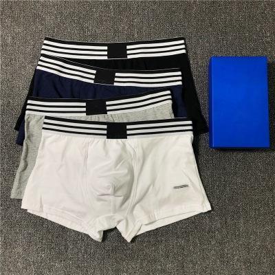 Мода мужские дизайнерские нижнее белье 2020 новое поступление бренд трусы горячие продажи роскошные боксеры мужские L0g0 одежда 6 цветов размер M-2XL YF20433