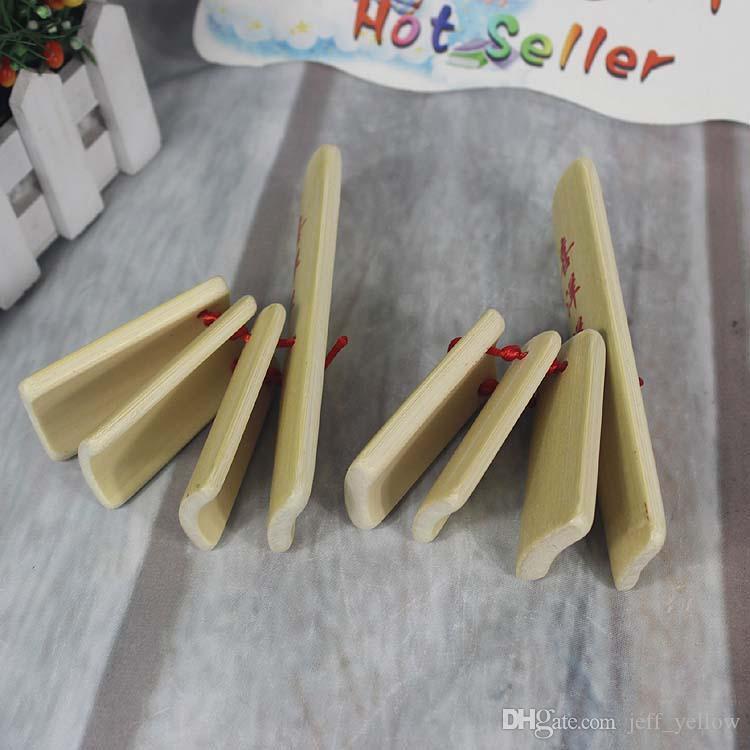 Бесплатная доставка натуральный бамбук ребенок маленький Аллегро этап производительность бамбук дерево удар игрушка
