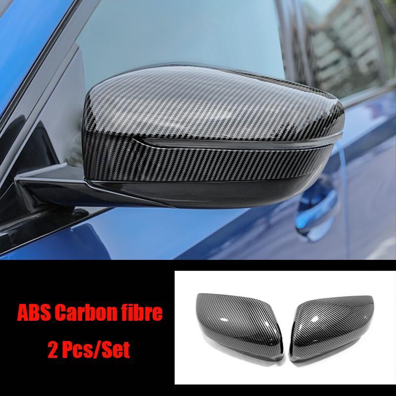 Für 3 Series G20 2019 2020 ABS Chrom-Auto-Seitentür Rearviewspiegelabdeckung trim-Aufkleber-Auto-Zubehör Styling-2ST