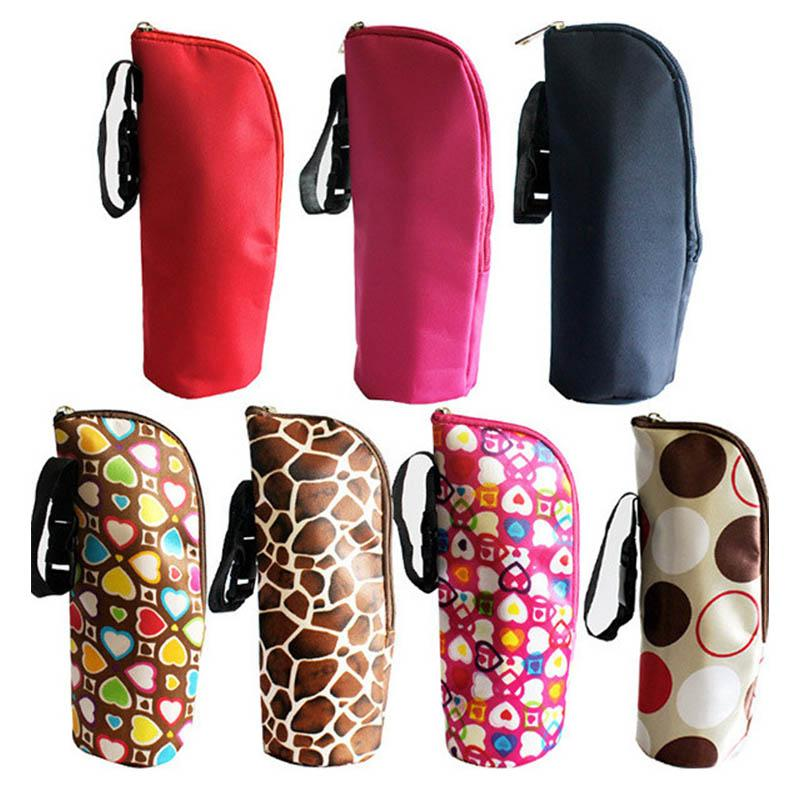 Home & Garden Thermal Insulation Termica Thermos Microfiber Milk Bottle Holder 1 PC Portable Baby Bottle Case