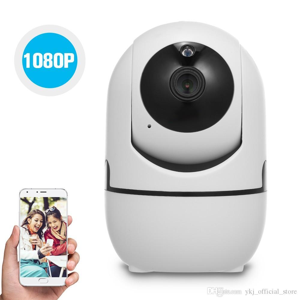 모션 감지 추적 음성 경보 나이트 비전 홈 보안와 와이파이 IP 카메라 1080P 무선 비디오 카메라 베이비 모니터 양방향 오디오