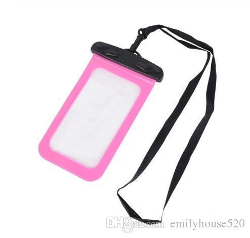 Waterproof Mobile Phone Bag Multifunction Mini Underwater Mobile Phone Bag 6 Inch Smart Phone Waterproof Bag