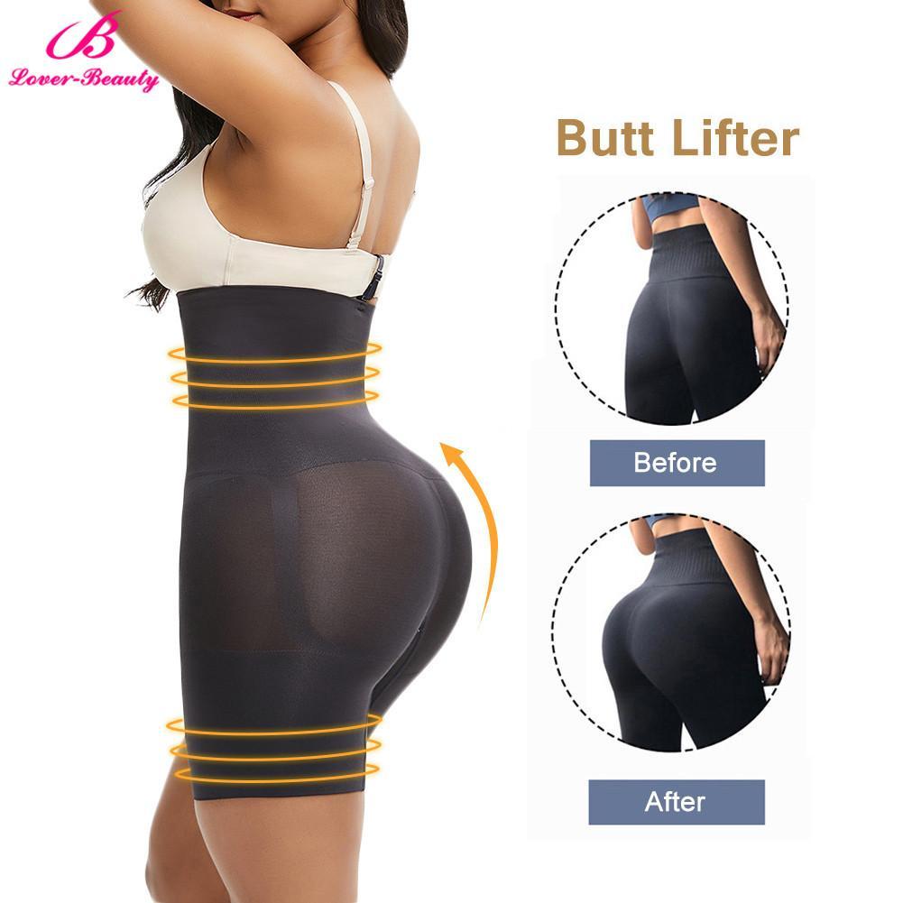 Lover-Beauty Butt lifter High Waist Control Panties Waist Trainer Seamless Shapewear Hip Enhancer Body Shaper Push Up Underpants CX200624